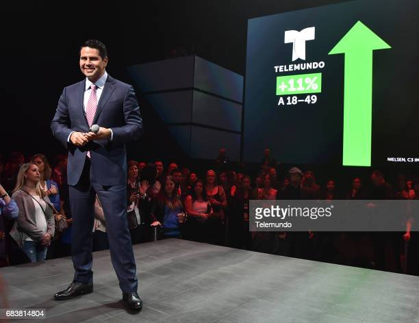 Telemundo Celebration in New York City on Monday May 15 2017 Pictured Cesar Conde Chairman NBCUniversal International Group and NBCUniversal...