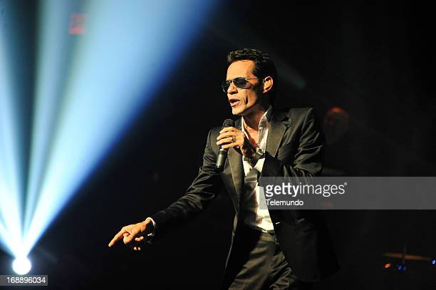 Telemundo Events 'Telemundo 2013 Upfront at Jazz at Lincoln Center' Pictured Marc Anthony
