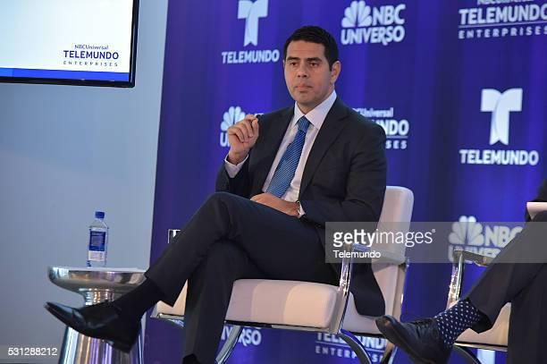 EVENTS Telemundo NBC Universo Upfront Press Breakfast Pictured Cesar Conde
