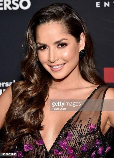 "Telemundo Upfront Celebration in New York City on Monday, May 14, 2018 -- Pictured: Carmen Villalobos, ""Sin Senos Si Hay Paraiso"" on Telemundo --"