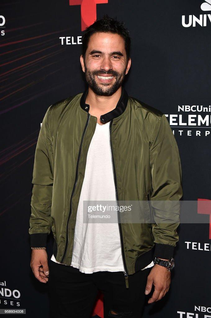 Telemundo Upfront Celebration in New York City on Monday, May 14, 2018 -- Pictured: Ignacio Serricchio, 'El Recluso' on Telemundo --