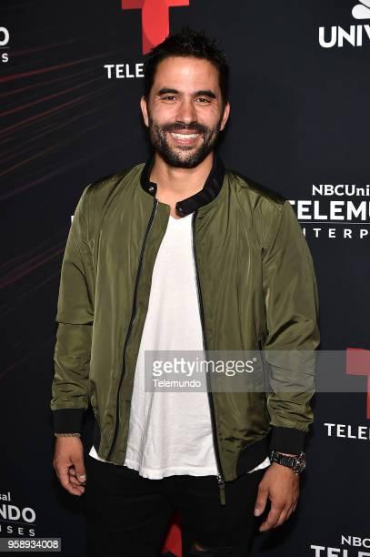 Telemundo Upfront Celebration in New York City on Monday May 14 2018 Pictured Ignacio Serricchio 'El Recluso' on Telemundo