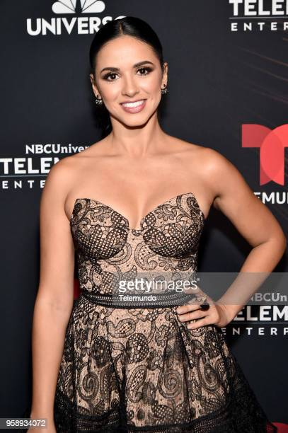 Telemundo Upfront Celebration in New York City on Monday May 14 2018 Pictured Ana Jurka 'Titulares y Mas' on Telemundo
