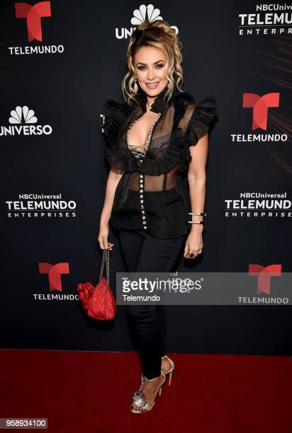 Telemundo Upfront Celebration in New York City on Monday May 14 2018 Pictured Aracely Arambula on Telemundo