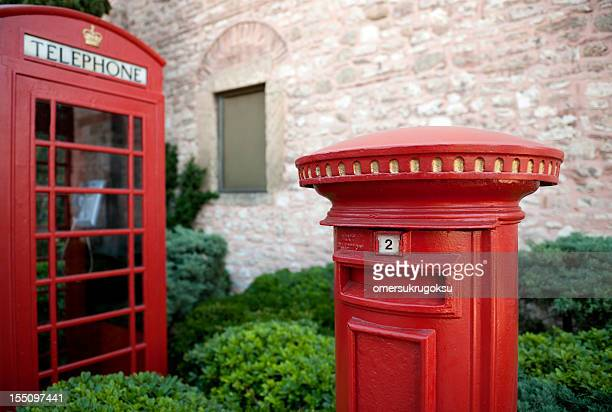 Telephone Booth and Post Box