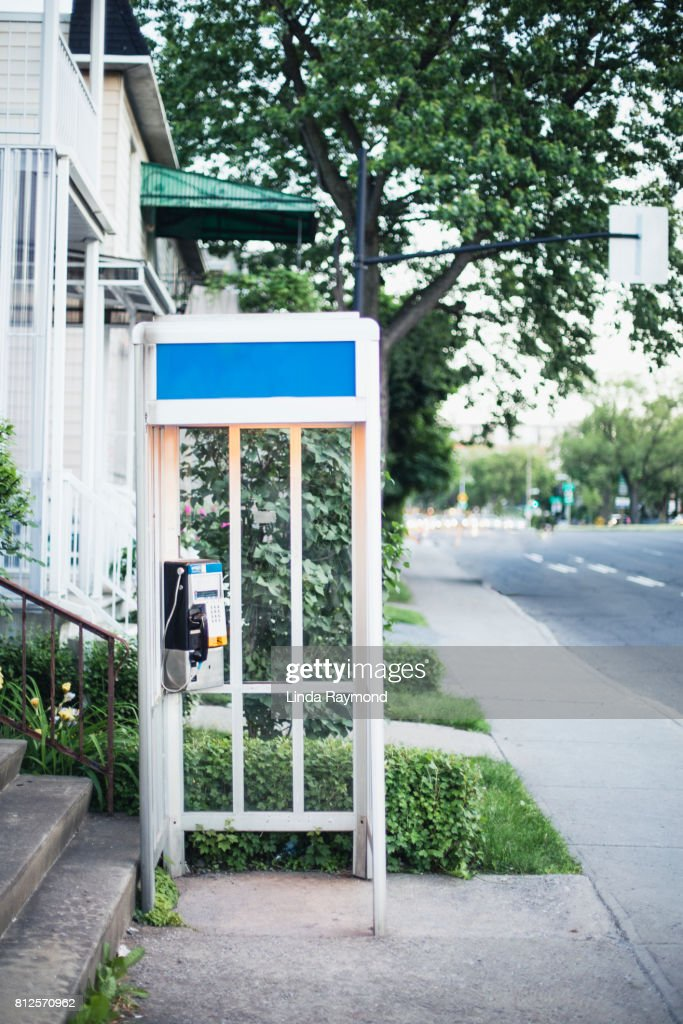 Telephone booth : Stock Photo