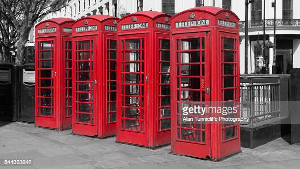 UK telephone boxes