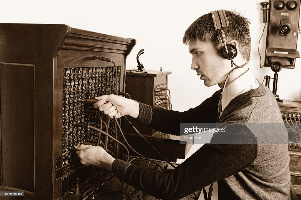 switchboard operator stock photos and pictures getty images