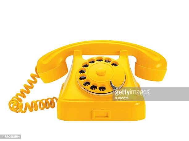 telephone (click for more) - yellow stock pictures, royalty-free photos & images