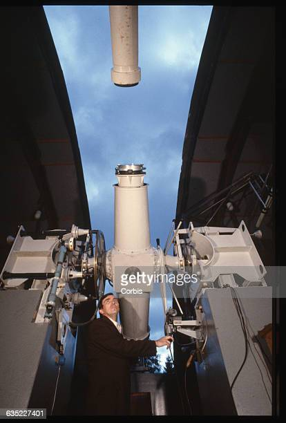 Telescope at a St. Petersburg Observatory, used to take precise measurements of star positions.   Location: Near St. Petersburg, Russia.