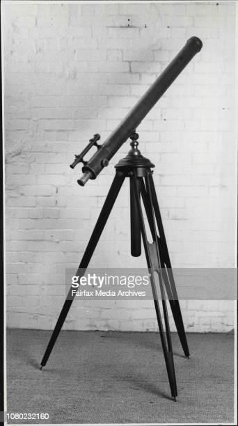 A Telescope by Flavelle Bros Taken at Woollahra Galleries Oxford StreetBelongs to Sandy Davidson September 18 1985