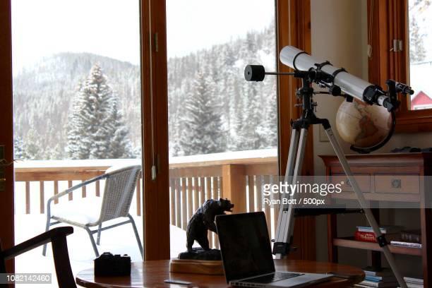 Telescope - Cabin life, Breckenridge