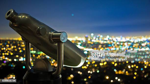 Telescope from Griffith Observatory