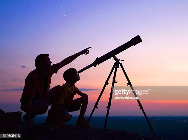telescope - astronomy stock pictures, royalty-free photos & images