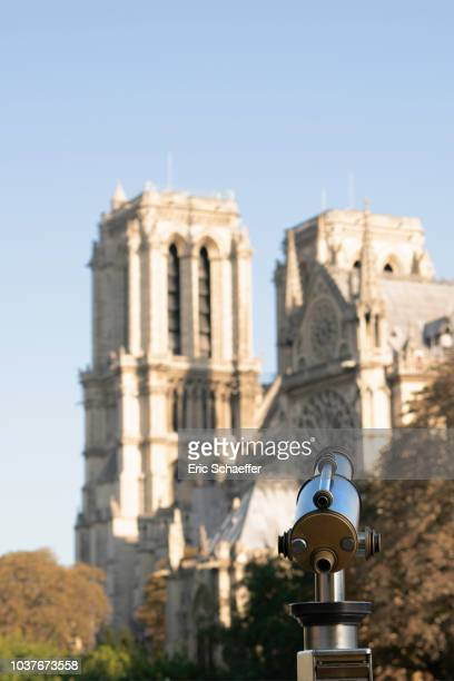 telescope to view Notre Dame
