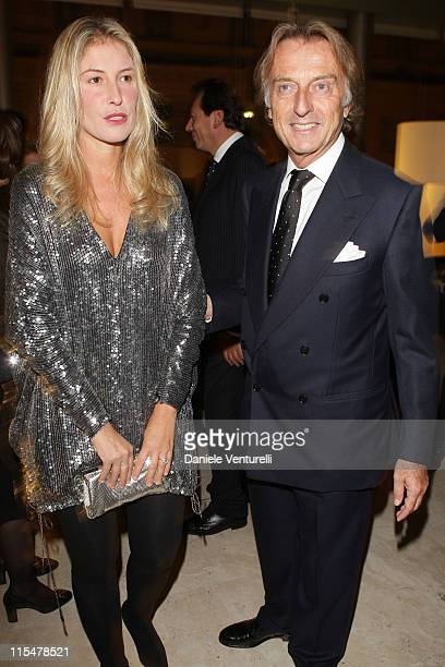 Telethon president Luca Cordero di Montezemolo and his wife Ludovica Andreoni attend the Charity Gala Telethon during Day 8 of the 4th International...