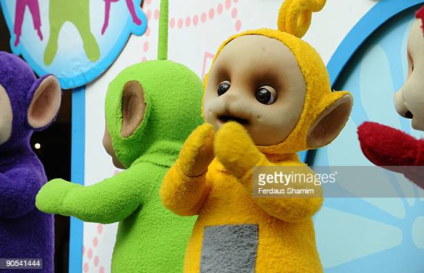 Teletubbies attend photocall to promote new tour at Westfield on September 10 2009 in London England