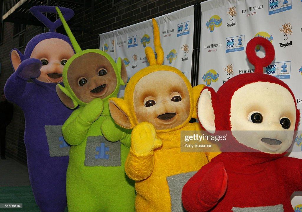 Laa Laa: Teletubbies Tinky Winky, Dipsy, Laa-Laa And Po Attend The