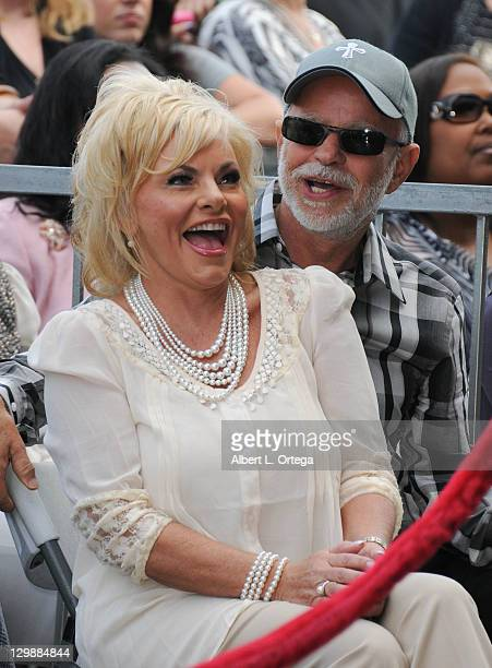 Televangelist Jim Bakker and wife Lori Bakker attend the ceremony honoring BeBe Winans and CeCe Winans with a star on the Hollywood Walk of Fame on...