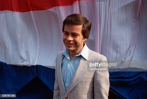 Televangelist Jim Bakker speaks at a Pray for America rally an event sponsored by the coalition of evangelists He would later be found guilty of...