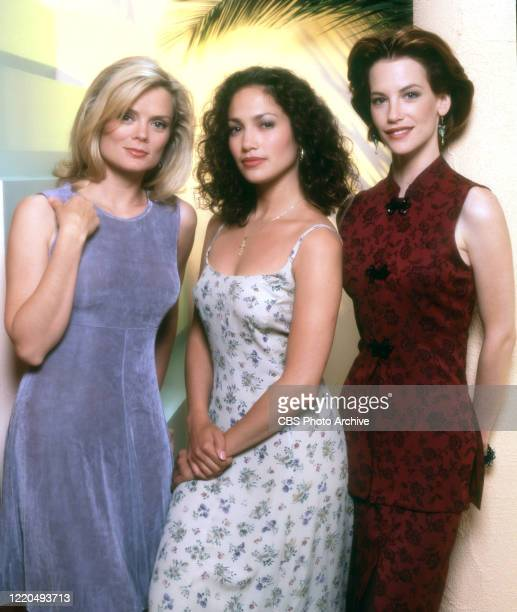 Televisioin series. Pictured from left is Romy Windsor , Jennifer Lopez , Cheryl Pollak . Image dated July 1, 1994.