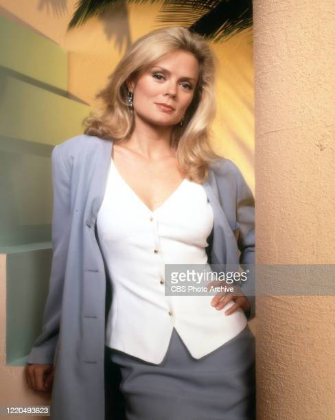 Televisioin series. Pictured is Romy Windsor . Image dated July 1, 1994.