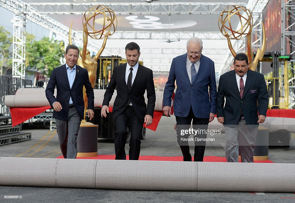 CA: 68th Emmy Awards Press Preview Day - Red Carpet Rollout