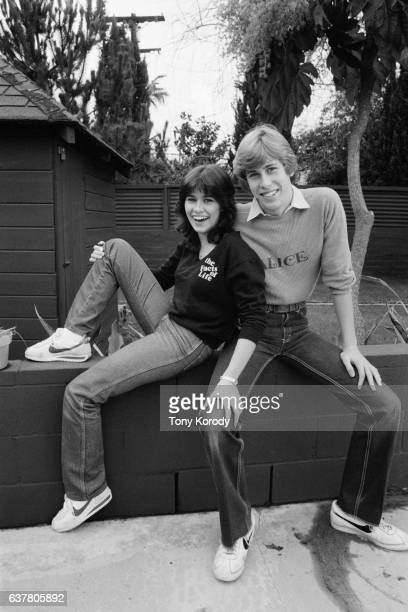 Television actors and real-life siblings Nancy and Philip McKeon.