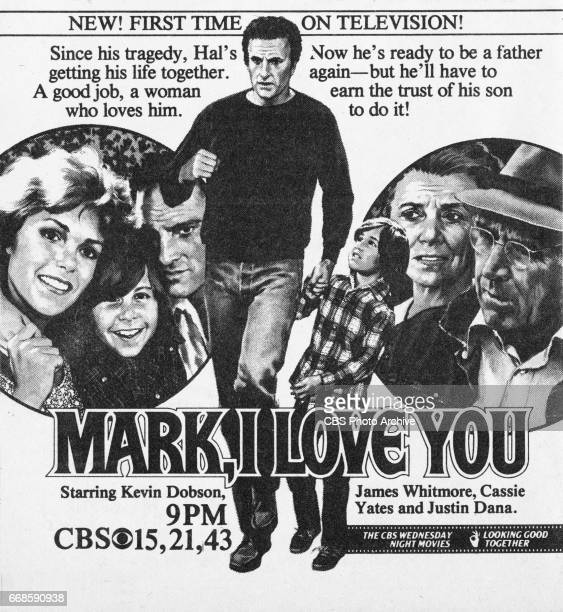 Television advertisement as appeared in the December 6 1980 issue of TV Guide magazine An ad for the madeforTV movie Mark I Love You The movie...