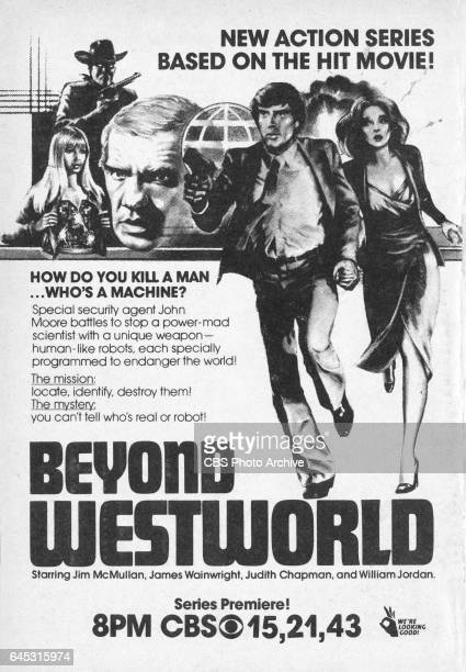 Television advertisement as appeared in the March 1 1980 issue of TV Guide magazine An ad for the Wednesday primetime science fiction program Beyond...