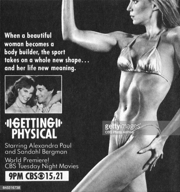 Television advertisement as appeared in the March 17 1984 issue of TV Guide magazine An ad for the madeforTV movie Getting Physical The movie...