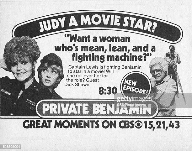 Television advertisement as appeared in the October 9 1982 issue of TV Guide magazine An ad for the Monday primetime situation comedy Private...