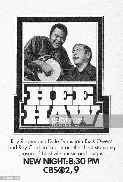 Television advertisement as appeared in the September 12 1970 issue of TV Guide magazine A spot ad for the Tuesday night music variety program Hee...