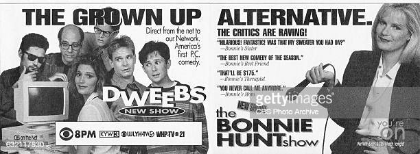 Television advertisement as appeared in the September 23 1995 issue of TV Guide magazine An ad for the Friday primetime comedies Dweebs and The...