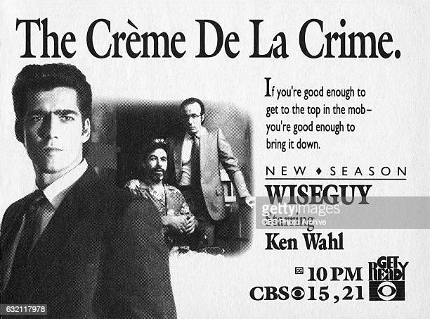 Television advertisement as appeared in the September 30 1989 issue of TV Guide magazine An ad for the Wednesday night drama Wiseguy
