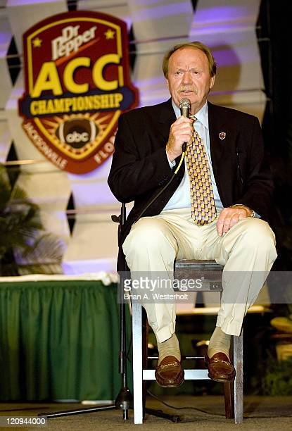 ABC Television analyst Paul McGuire at the 2006 ACC Football Awards Luncheon at the Hyatt Regency in Jacksonville FL Friday December 1 2006