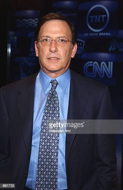 Television anchor Aaron Brown attends the semiannual Television Critics Association Tour January 16 2002 in Pasadena CA