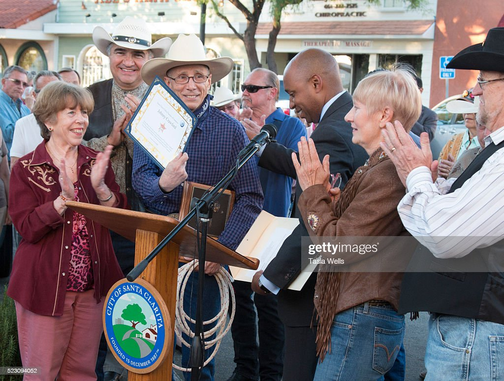 Television And Film Legend Johnny Crawford Honored With Star On The Walk Of Western Stars : News Photo