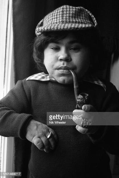 Television and Movie Actor Herve Villechaize 19431993 who played Tattoo in the TV series Fantasy Island and committed suicide in Los Angeles dressed...