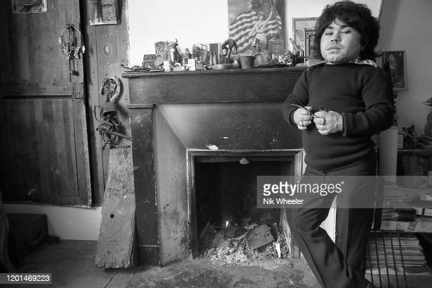 Television and Movie Actor Herve Villechaize 1943-1993 who played Tattoo in the TV series Fantasy Island and committed suicide in Los Angeles, at...