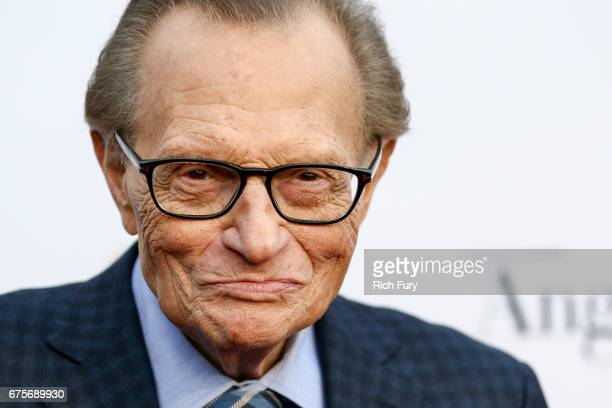 Television and radio host Larry King attends Larry King's 60th Broadcasting Anniversary Event at HYDE Sunset Kitchen Cocktails on May 1 2017 in West...