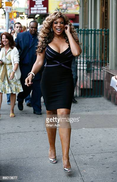 Television and radio host Wendy Williams attends The Wendy Williams Show Launch Party at The Gates on July 13 2009 in New York City