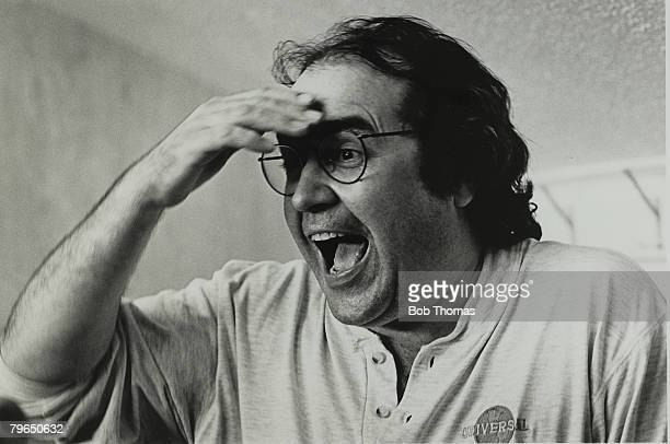 18th May 1997 Danny Baker the TVand radio personality pictured at an All Stars testimonial football match