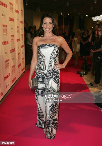 Television and radio personality Kate Ritchie arrives for the Cosmopolitan Fun Fearless Female Awards at the Art Gallery Of NSW on September 29 2009...