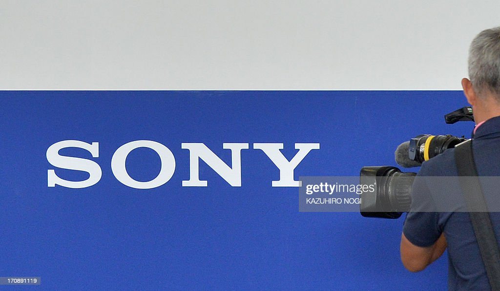 JAPAN-US-COMPANY-SONY : News Photo