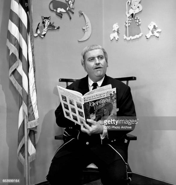 CBS television childrens program Captain Kangaroo featuring host Bob Keeshan Image dated January 8 1963 New York NY