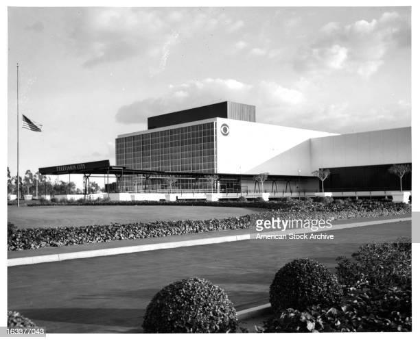 CBS Television City in Los Angeles circa 1965