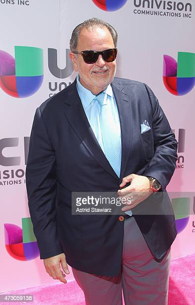 """Television co-Host Raul """"El Gordo"""" De Molina attends Univision's 2015 Upfront at Gotham Hall on May 12, 2015 in New York City."""