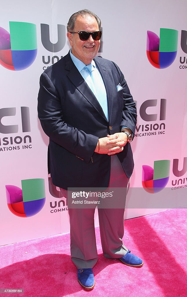 "Television co-Host Raul ""El Gordo"" De Molina attends Univision's 2015 Upfront at Gotham Hall on May 12, 2015 in New York City."