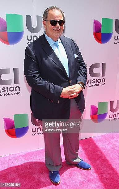 """Television coHost Raul """"El Gordo"""" De Molina attends Univision's 2015 Upfront at Gotham Hall on May 12 2015 in New York City"""